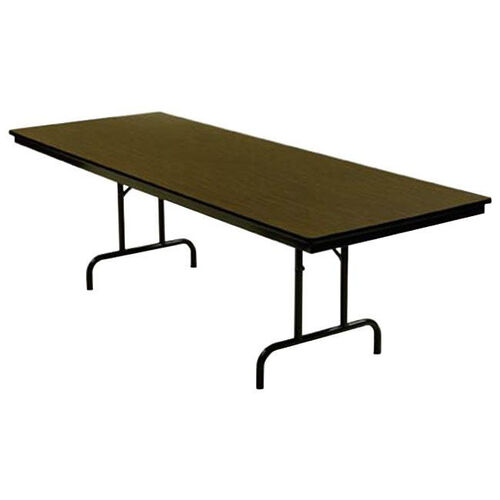 Customizable 800 Series Multi Purpose Rectangular Deluxe Hotel Banquet/Training Table with Plywood Core Top - 36