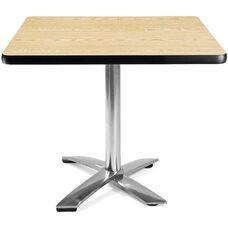 36'' Square Flip-Top Multi-Purpose Table - Oak