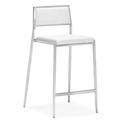 Dolemite Counter Chair in White
