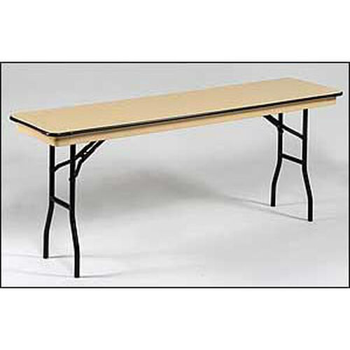 Our NLW Series Lightweight Standard Seminar Plastic Folding Table - 18