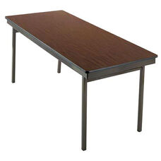 Customizable 700 Series Multi Purpose Rectangular Deluxe Hotel Banquet/Training Table with Plywood Core Top - 24