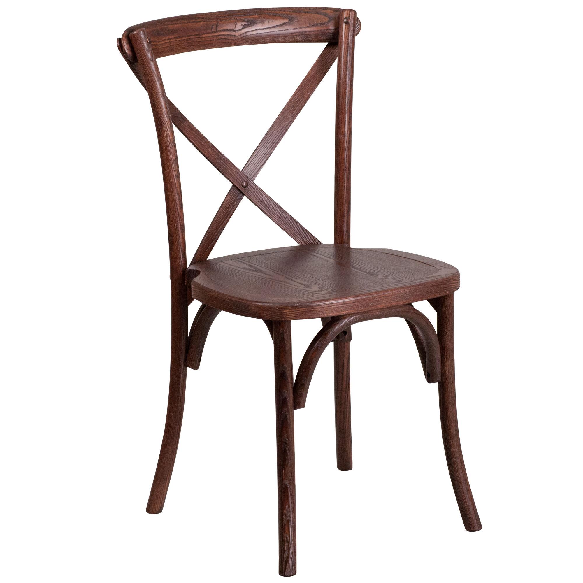 Flash furniture hercules series stackable mahogany wood for Furniture sites