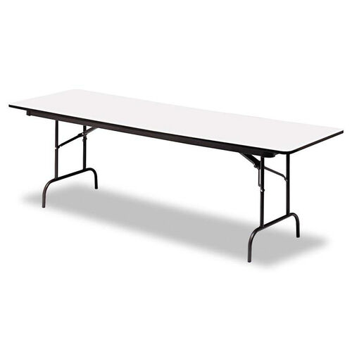 Our Iceberg Premium Wood Laminate Folding Table - Rectangular - 96w x 30d x 29h - Gray/Charcoal is on sale now.