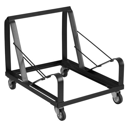 Our HERCULES Series Black Steel Sled Base Stack Chair Dolly is on sale now.