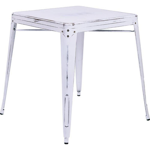 Our OSP Designs Bristow Antique Metal Table - Antique White is on sale now.