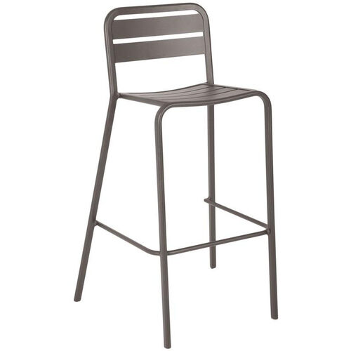 Our Vista Stackable Outdoor Aluminum Barstool - Earth is on sale now.