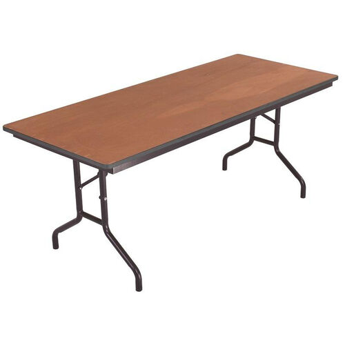 Our Sealed and Stained Plywood Top Table with Vinyl T - Molding Edge - 18