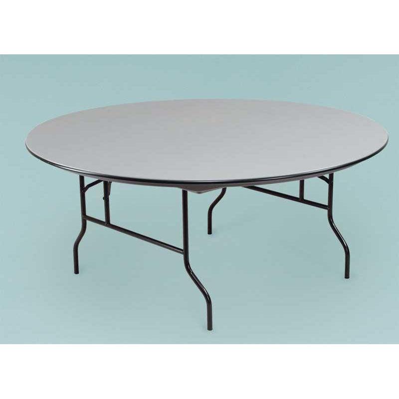 ... Our NLW Series Large Lightweight 72u0027u0027Diameter Round Plastic Folding  Table   30u0027