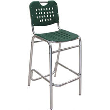 Palm Beach Collection Green Outdoor Barstool