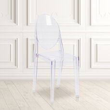 Ghost Side Chair in Transparent Crystal