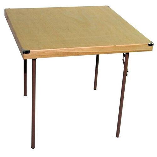 Our Caterer Elite Series Medium Card Table with Non Marring Floor Glides - 34