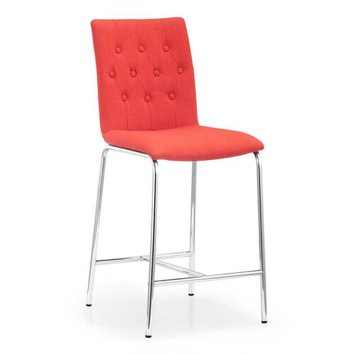 Uppsala Counter Chair in Tangerine