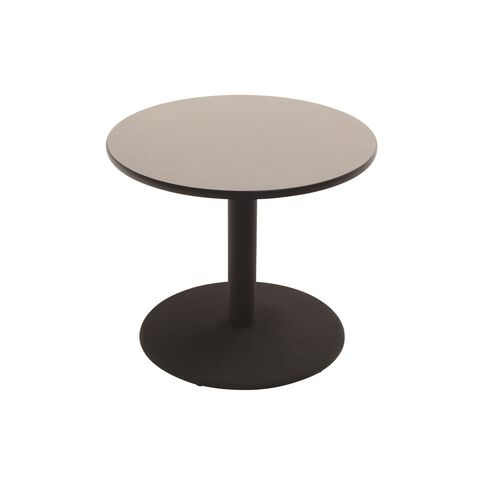 Round Laminate Top Table with Pedestal Cast Iron Base - 48