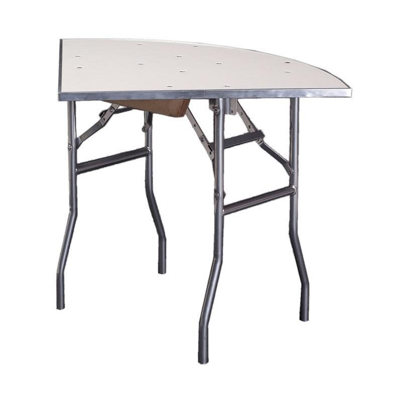 ... Our Standard Series Quarter Round Folding Banquet Table With Aluminum  Edge And Mayfoam Top   36