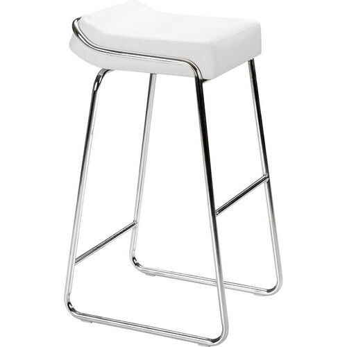 Our Wedge Barstool in White is on sale now.