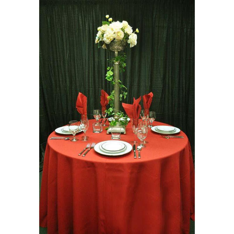 ... Our 60u0027u0027 X 108u0027u0027 Renaissance Stain Resistant Series Rectangular  Tablecloth   Rust