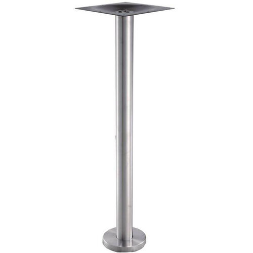 Our High Quality Stainless Steel Bar Height Floor Mount Outdoor Table Base is on sale now.