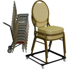 Essential Pack of Stack Chair Dollies