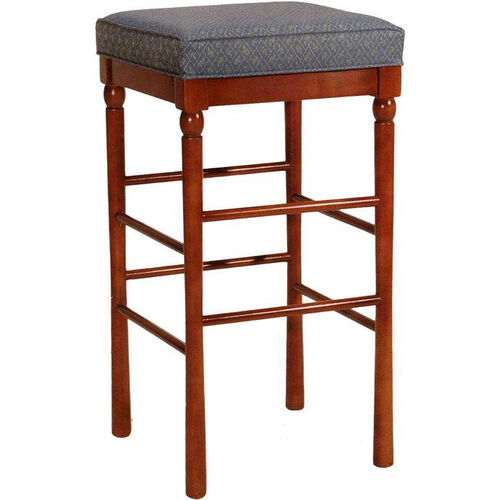 2568 Backless Bar Stool w/ Upholstered Seat - Grade 1