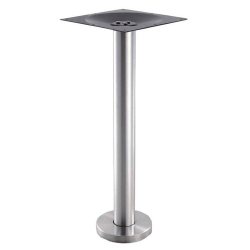 Our High Quality Stainless Steel Dining Height Floor Mount Outdoor Table Base is on sale now.