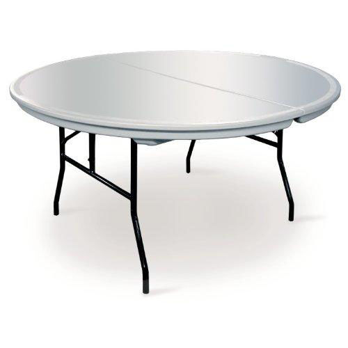 Our Commercialite Round Polyethylene Folding Table with Locking Legs - 60