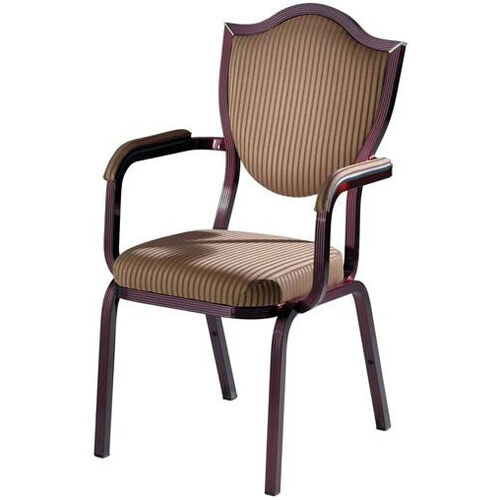 Our Burgess Como Premium Comfort Banquet Stacking Arm Chair with Sheild Back is on sale now.