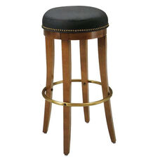 1105 Bar Stool w/ Metal Foot Rest - Grade 1