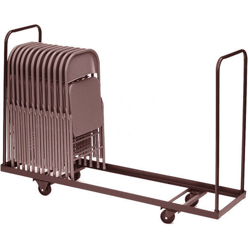 Our Welded Iron Folding Chair Truck with 4