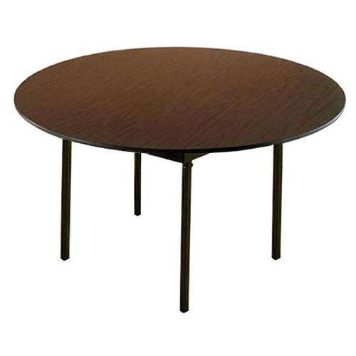 Our Customizable 720 Series Multi Purpose Round Deluxe Hotel Banquet/Training Table with Plywood Core Top - 72