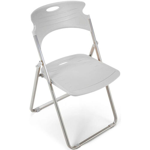 Our Flexure Folding Chair with Polypropylene Seat and Back - Dove Gray is on sale now.