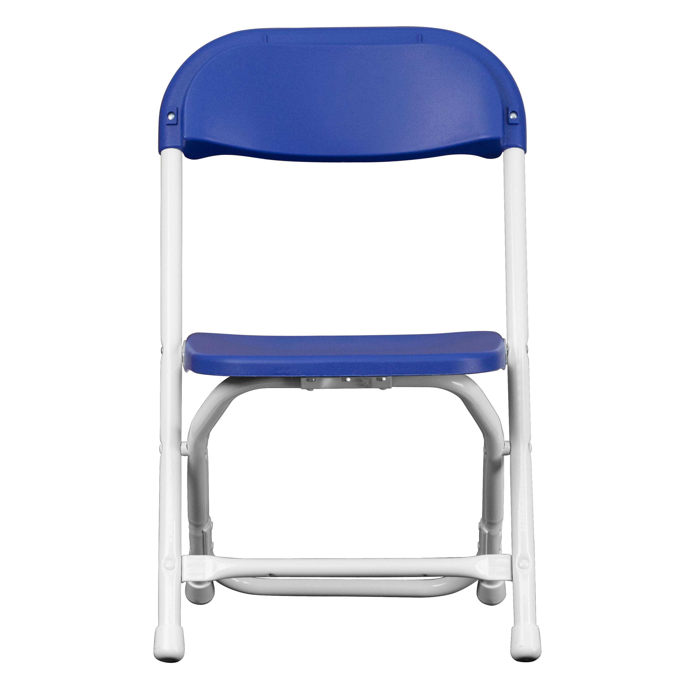 Images. Kids Blue Plastic Folding Chair