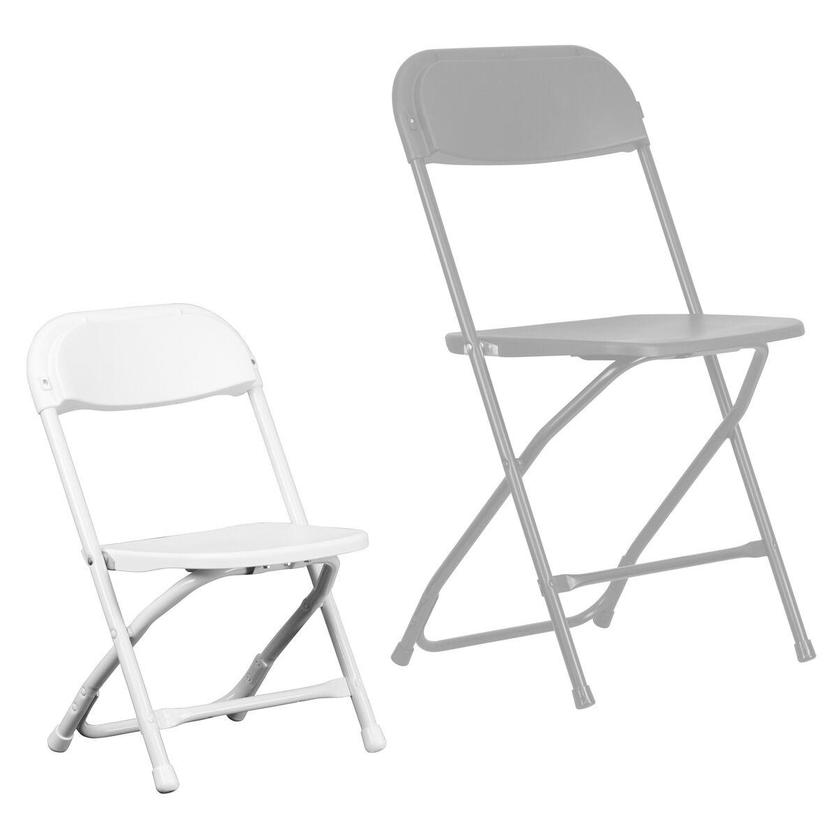 Kids White Folding Chair Y Kid Wh Gg Bestchiavarichairs Com