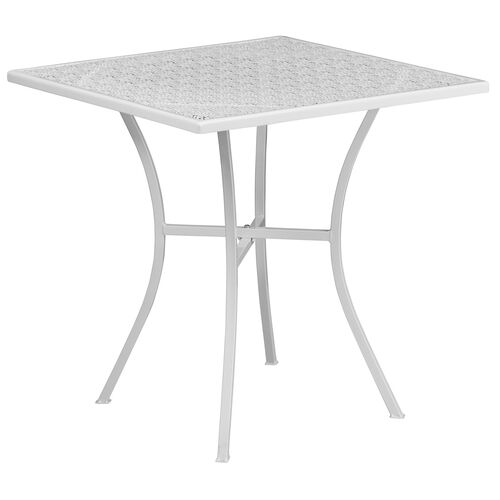Our Square Patio Table |Outdoor Steel Square Patio Table is on sale now.