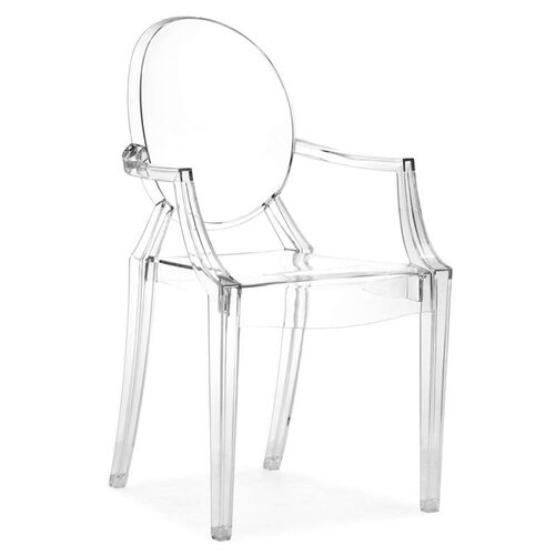 Anime Dining Chair in Transparent
