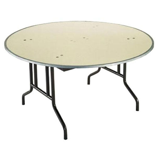 Customizable 810 Series Multi Purpose Round Deluxe Hotel Banquet/Training Table with Plywood Core Top - 60