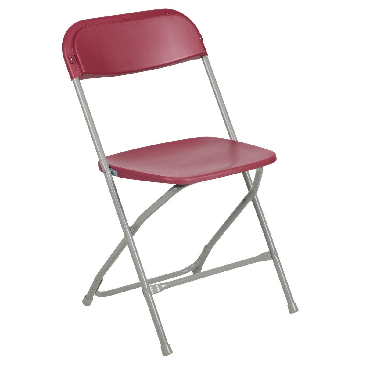 Fine Hercules Series 650 Lb Capacity Premium Red Plastic Folding Chair Squirreltailoven Fun Painted Chair Ideas Images Squirreltailovenorg