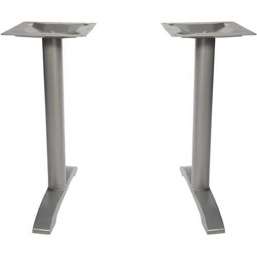 Our Margate End Bases in Silver Powder Coat - Set of 2 is on sale now.