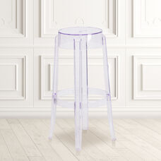 29.75'' High Transparent Barstool