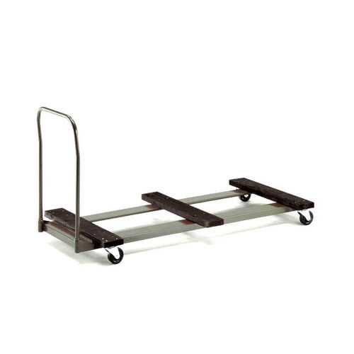 Standard Duty Rectangular Table Caddy with Swivel Stem Casters - 31.25