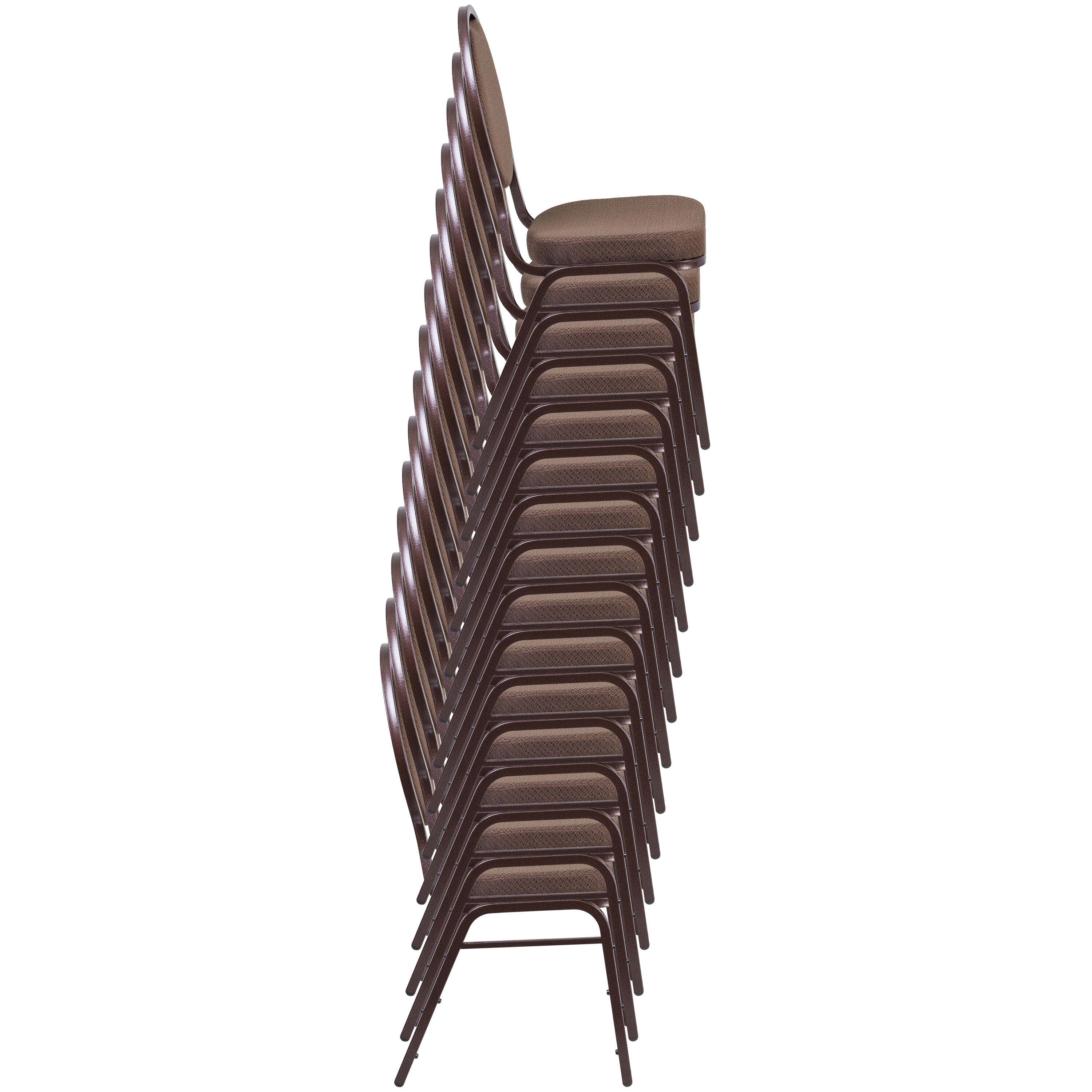 ... Our HERCULES Series Teardrop Back Stacking Banquet Chair in Burgundy Patterned Fabric - Gold Frame is ...  sc 1 st  Best Chiavari Chairs & Burgundy Fabric Banquet Chair FD-C04-ALLGOLD-2804-GG ...