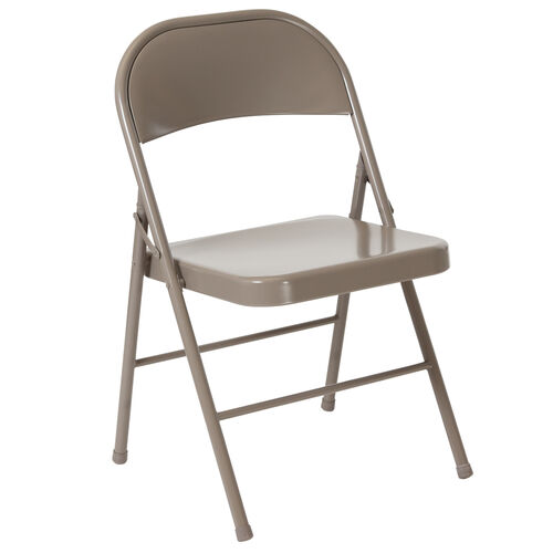 Our HERCULES Series Double Braced Gray Metal Folding Chair is on sale now.