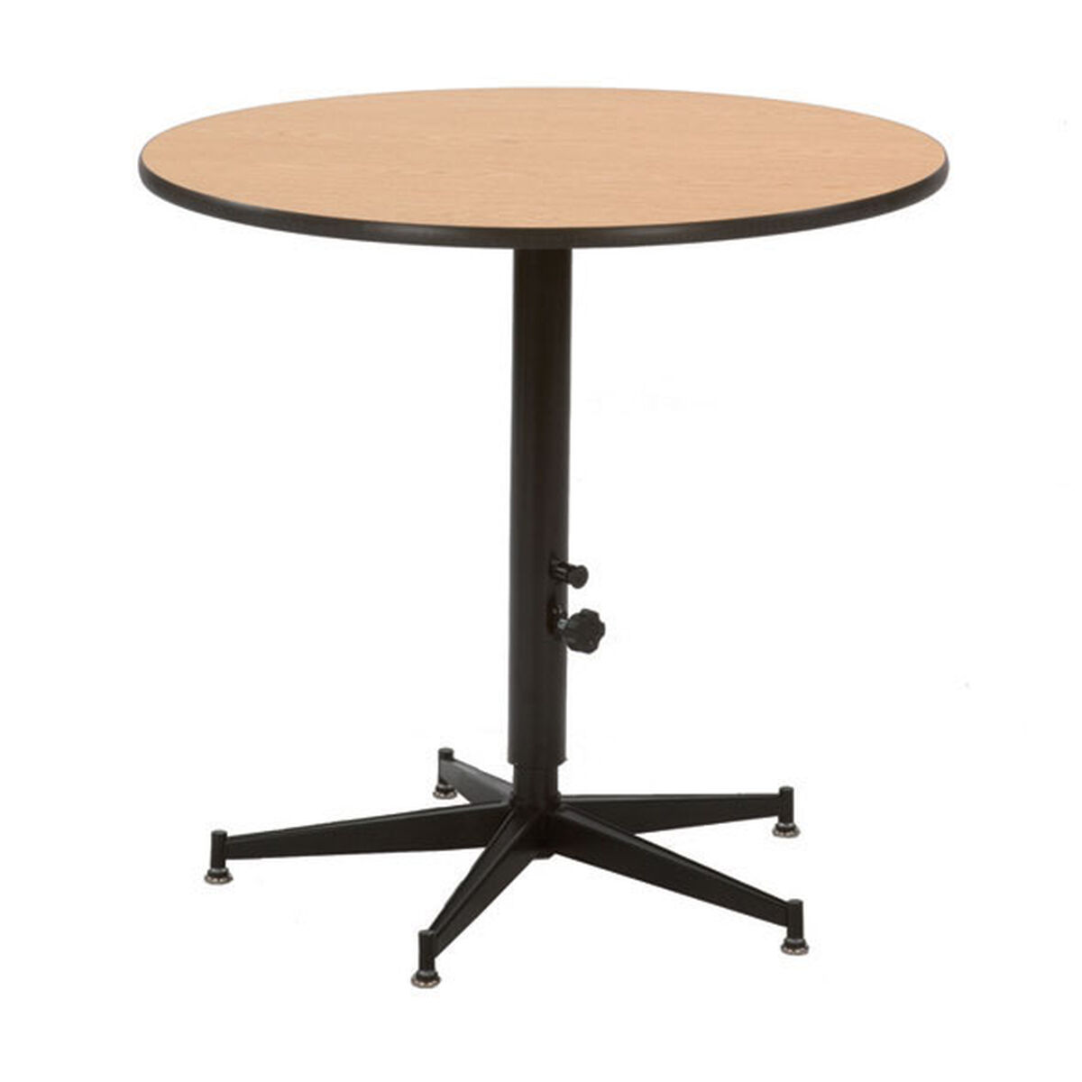 Plywood Tri Height Cocktail Table ACRE BestChiavariChairscom - Adjustable height cocktail table