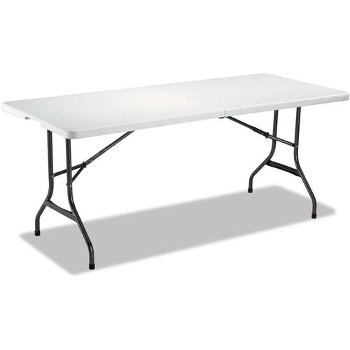 Our Alera® Indoor or Outdoor Fold-in-Half Resin Folding Table - 71