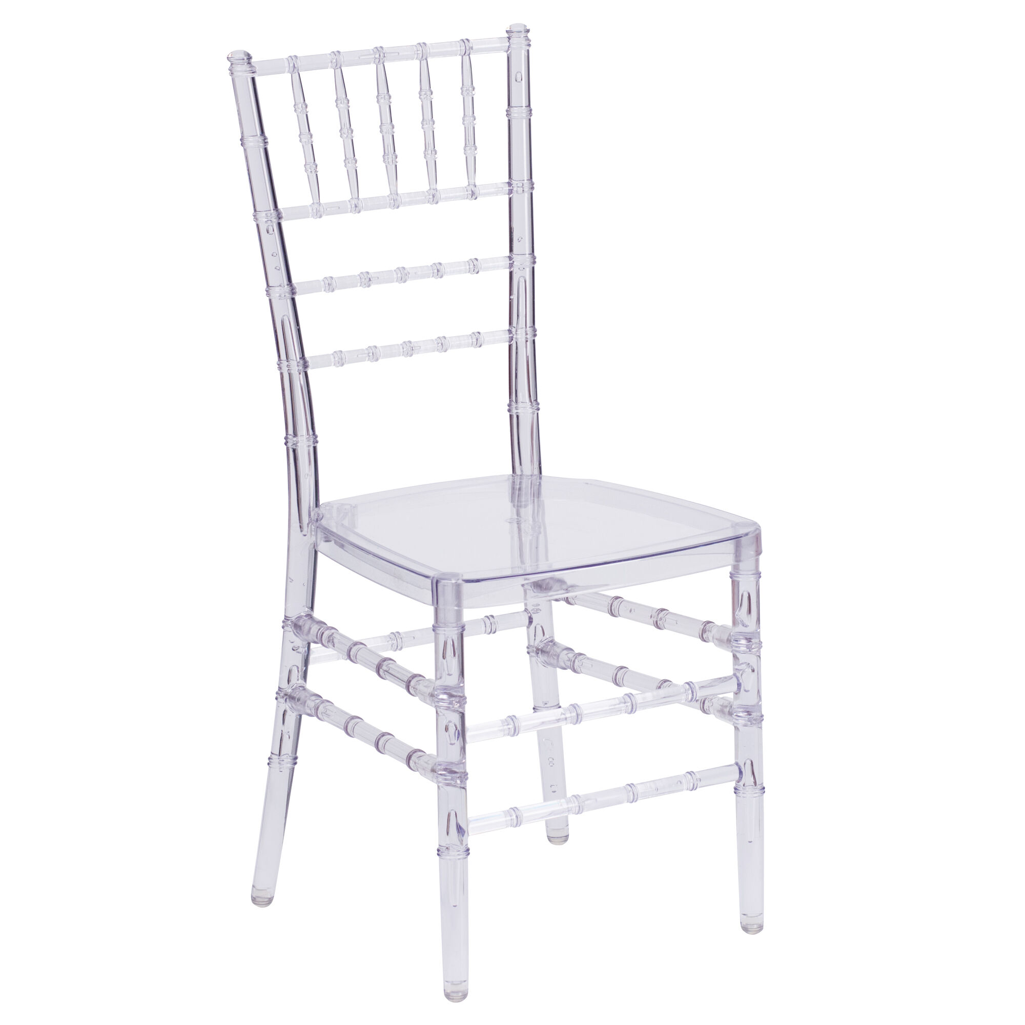 Flash Furniture Flash Elegance Crystal Ice Stacking Chiavari Chair With Free Cushion Bh Ice