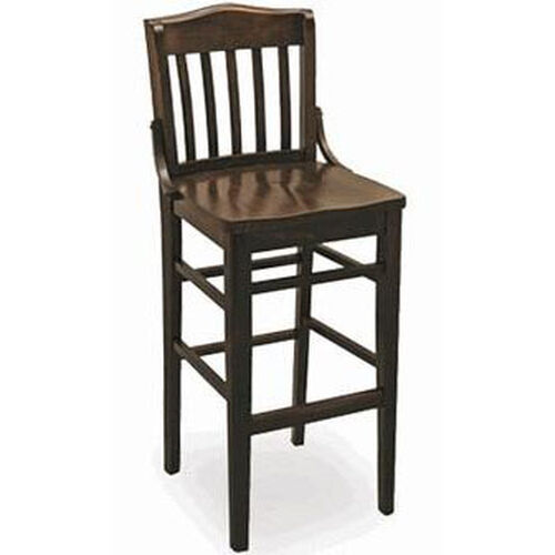 Our Classic Indoor Collection Beechwood Slat Full Back Barstool is on sale now.