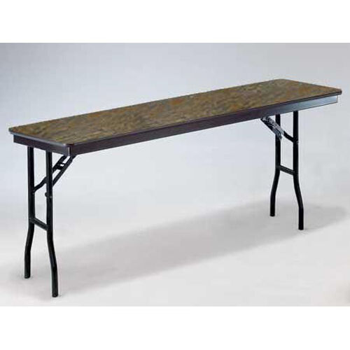 E Series Standard Seminar Plywood Core Folding Table - 18