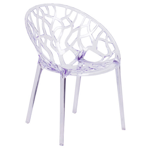Our Specter Series Transparent Stacking Side Chair is on sale now.