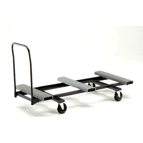 Our Heavy Duty Steel Rectangular Table Caddy with Swivel Casters - 31.25