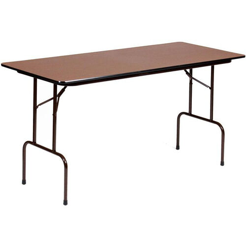 Our Counter Height Rectangular Melamine Top Folding Work Table - 72