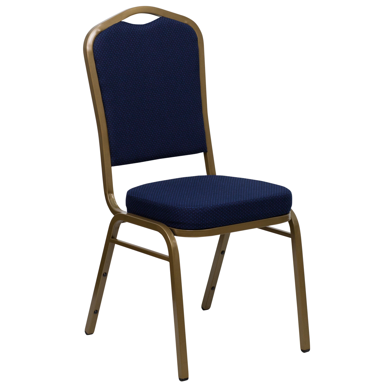 Navy Blue Fabric Banquet Chair FD C01 ALLGOLD 2056 GG |  BestChiavariChairs.com